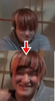 モーリー 髪型