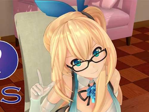 眼鏡をかけているミライアカリ